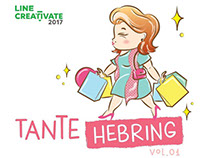 Tante Hebring Vol 0.1 LINE Sticker