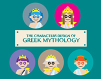 Greek Mythology Character Phone Case & Wallpaper Design