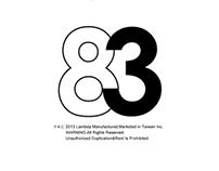 2083 Echelon Logo T-shirt Design™|2014