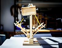 Mantis: Kinetic Lamp