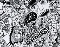 Random fineliner doodles.