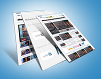 Mubasher News Network Wordpress Theme