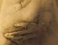 """""""Studio delle mani"""" (Leonardo) - by Giulia Sollazzo"""