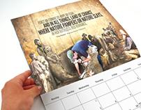 'Our Unsung Heroes' Calendar Design Concept