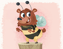 Ben, le petit ours qui voulait etre une abeille