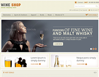 Wine Shop - CS Cart Responsive Theme