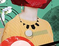 Plakat - Moda za poneti