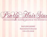 Pinup Hair Studios - Branding Design