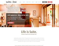 Suit & Low web site design
