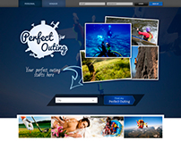 Perfect Outing Web design