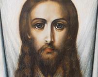 The Holy Ubrus. Icon.Спас Нерукотворный.