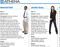Athena Restaurant Initiative project User Experience