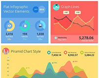 Dashboard UX/UI design Infographics