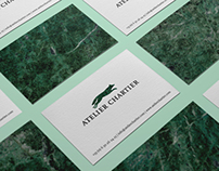 Atelier Chartier | Visual identity
