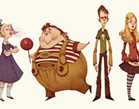 Charlie And The Chocolate Factory (Character Designs)