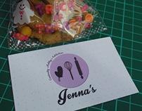 GRAPHICS | Business Card - Jenna's Bakery