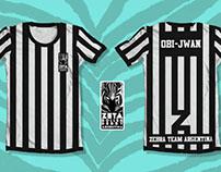 Zebra Team Argentina uniform Design