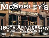 McSorley's Ale House160th Anniversary Calendar