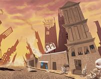 Cenário para série animada
