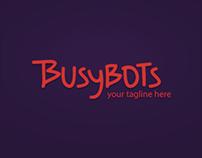 Busybots branding