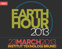 Earth Hour 2013 Backdrop
