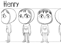 Character Design Turn Arounds