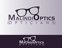 Branding : Malindi Optics Logo