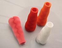 Wave 01 - 3D printed vase