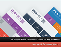 Metro UI Business Card x5