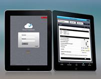 Cloud feedback App UI