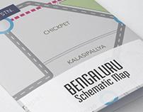 Bangalore Schematic Map
