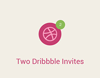 [Giveaway] Two Dribbble Invites for Designers