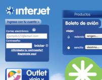 Interjet Website