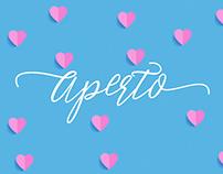 Free Aperto Elegant Signature Font