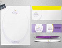 Clinica de Nutrição Logo and Corporative Identity