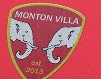 Monton Villa FC Badge Design