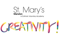 St. Mary's Menston Creativity Display