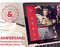 Ampersand - Multipurpose Masonry WordPress Theme