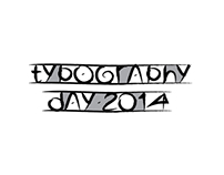 Typography Day 2014 Logo Option
