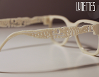 LUNETTES, Customisable Glasses.