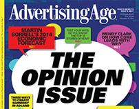 Ad Age December 30, 2013 print cover