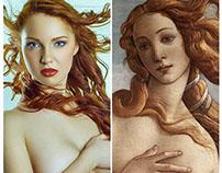 The Birth Of Venus by Sandro Botticelli - 1485-86