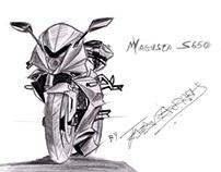 MV agusta s650 concept
