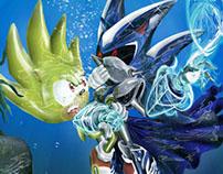Sonic Fan art - Music Themes Project
