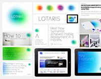 Lotaris branding