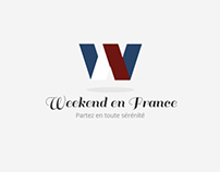 Weekend en France - Webdesign
