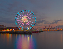 The Great Wheel of Seattle