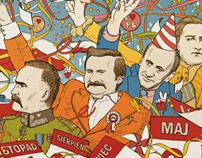 Happy National Holidays - Przekroj Cover