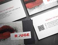 FRENCH BISTROT BRANDING - ROUGE NYC