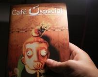 Tapa  para la revista cafe Espacial ( S.P. Brasil)
